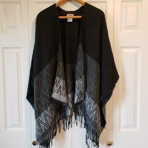 Kate & Leo Ladies Shawl/Poncho